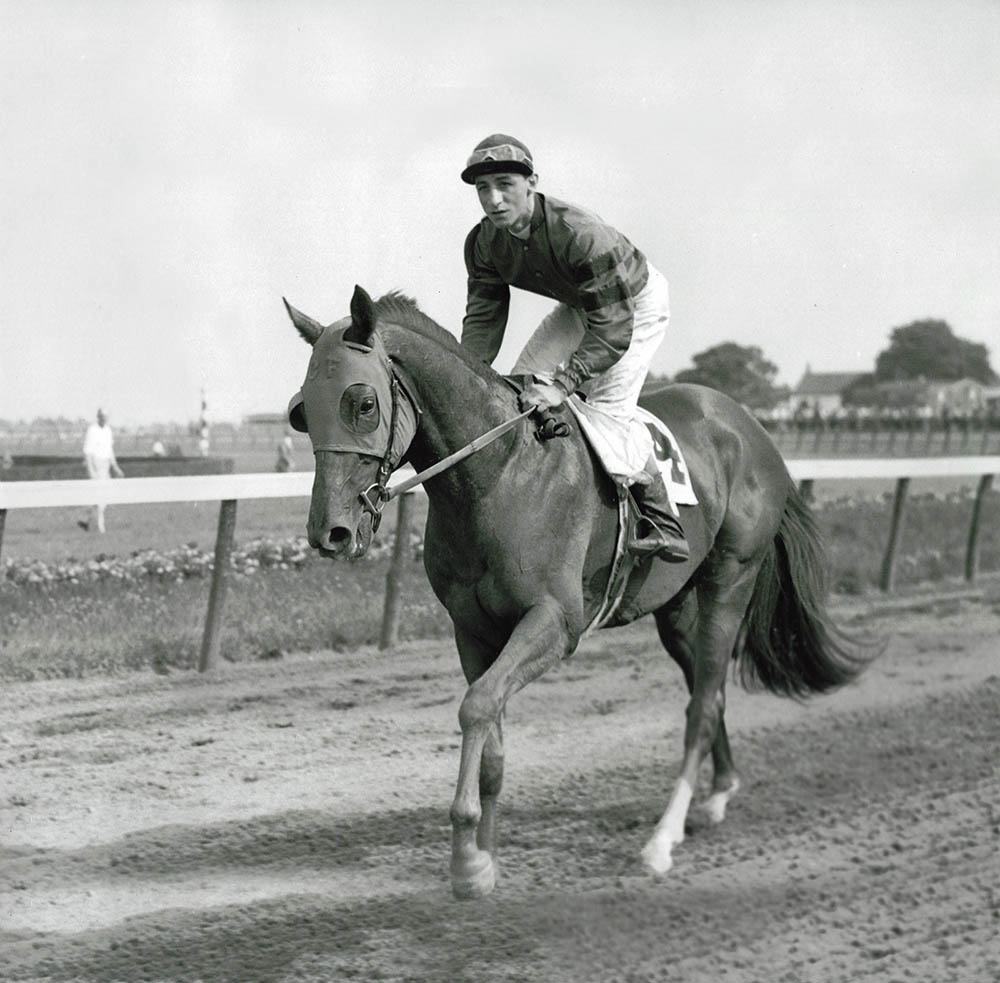 Whirlaway-Training with Eddie Arcaro