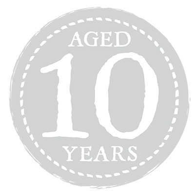 Aged 10 Years Seal