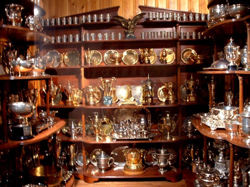 Calumet Farm Trophy Room - @Calumet Farm Bourbon Whiskey
