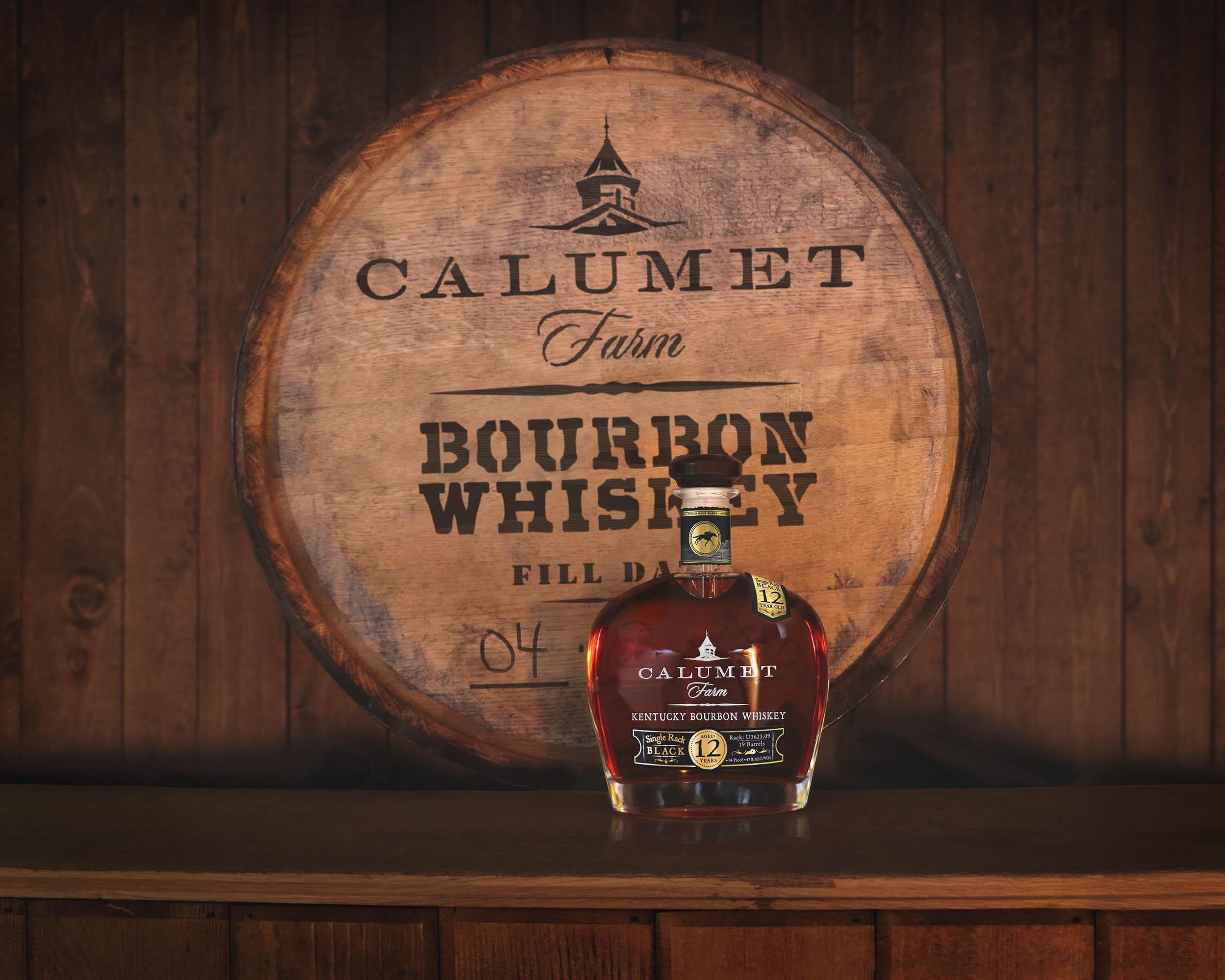 Calumet Single Rack Black 12 Year Old Bourbon