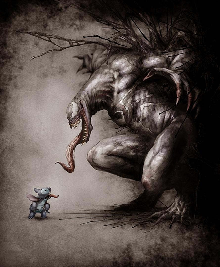 Stitch vs Vemon
