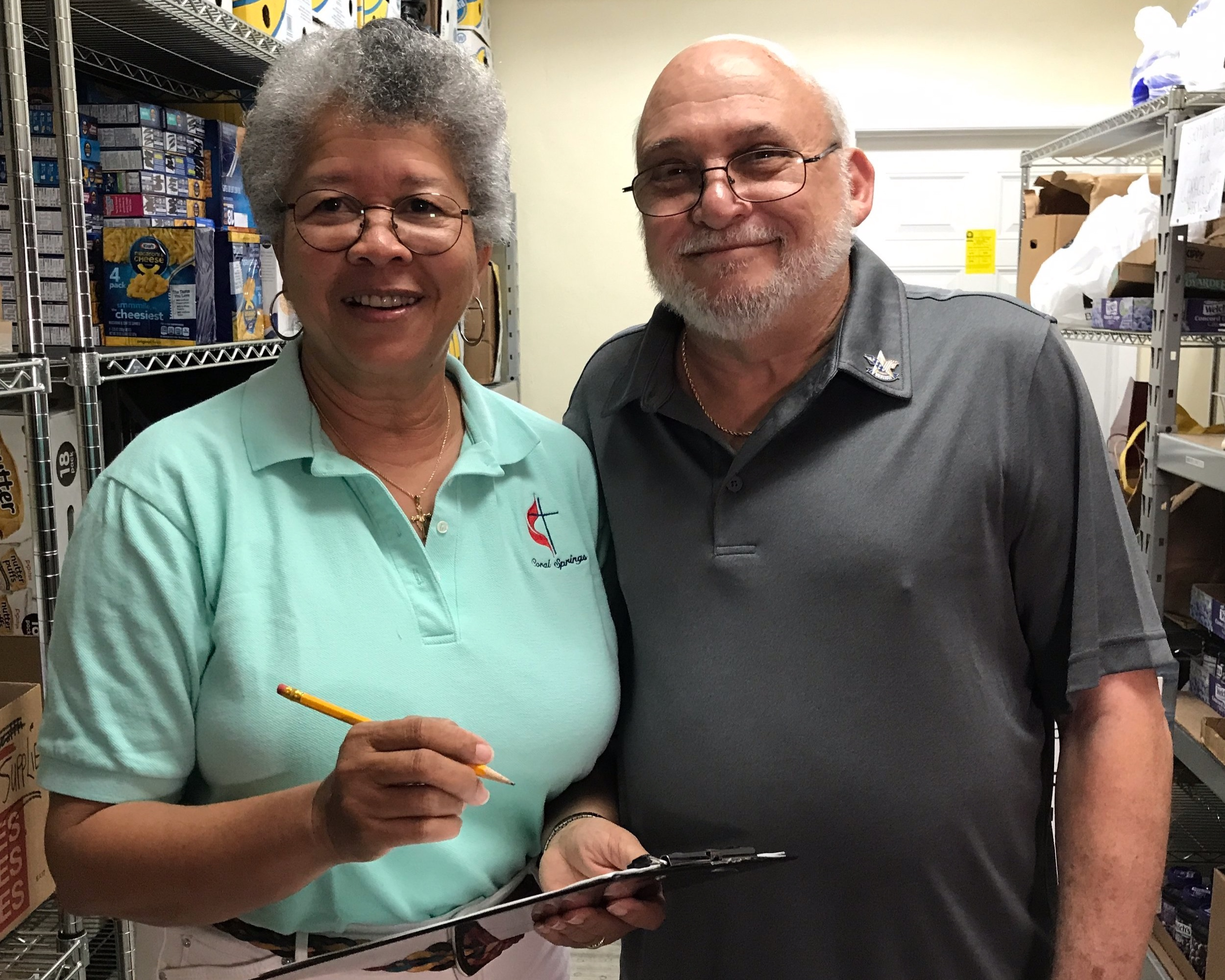 Food Pantry - The food pantry provides non-perishable food forHis Walk Ministries and others in need. It alsosupplies snack bags for the hungry, which are keptin the church office. Please leave your fooddonations in the shopping carts located in front ofthe sanctuary on Sunday mornings.