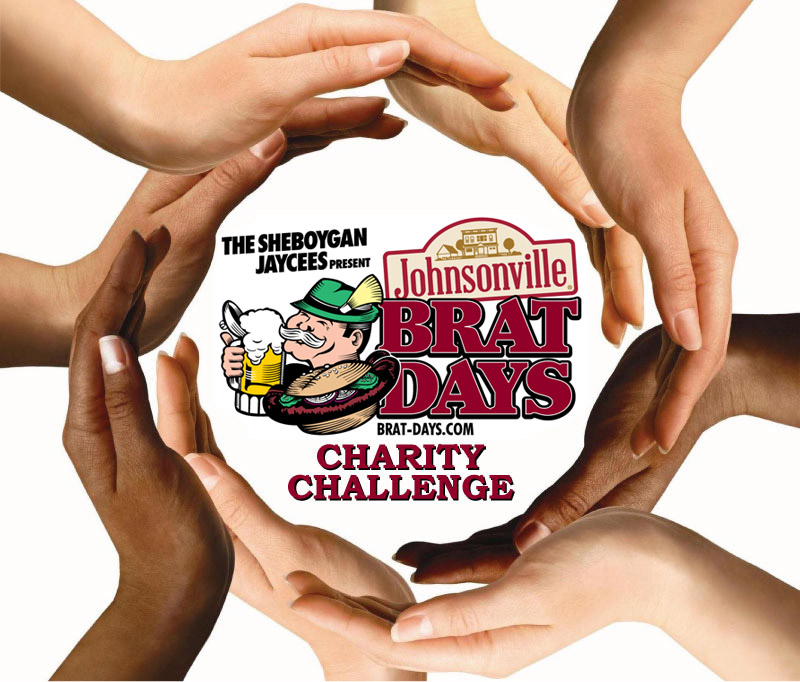 Charity Challenge - Help us support local charities by filling the tip jars at the bar areas during Brat Days. Click below to see the list of finalists.