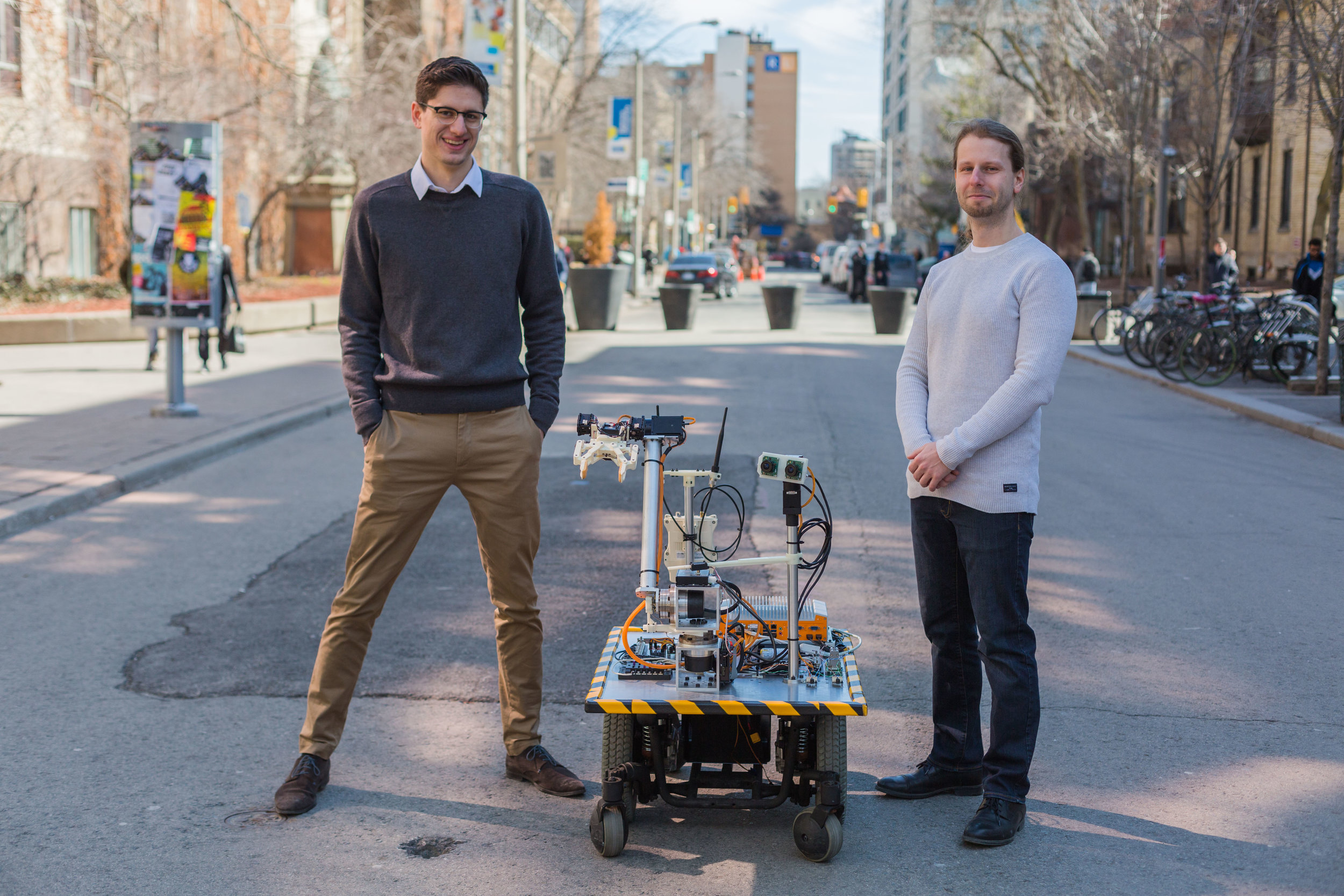 Our Story - What started out as an idea to make bomb disposal robots easier to use quickly turned into a passion of removing people from dangerous work environments. Read more about our founders and their vision for the future of robotics.