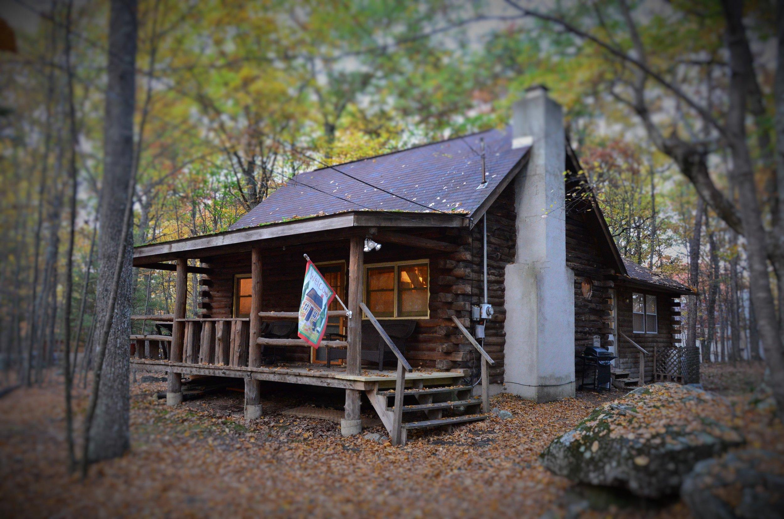 masthope log cabin  3 bedrooms, 2 bathrooms