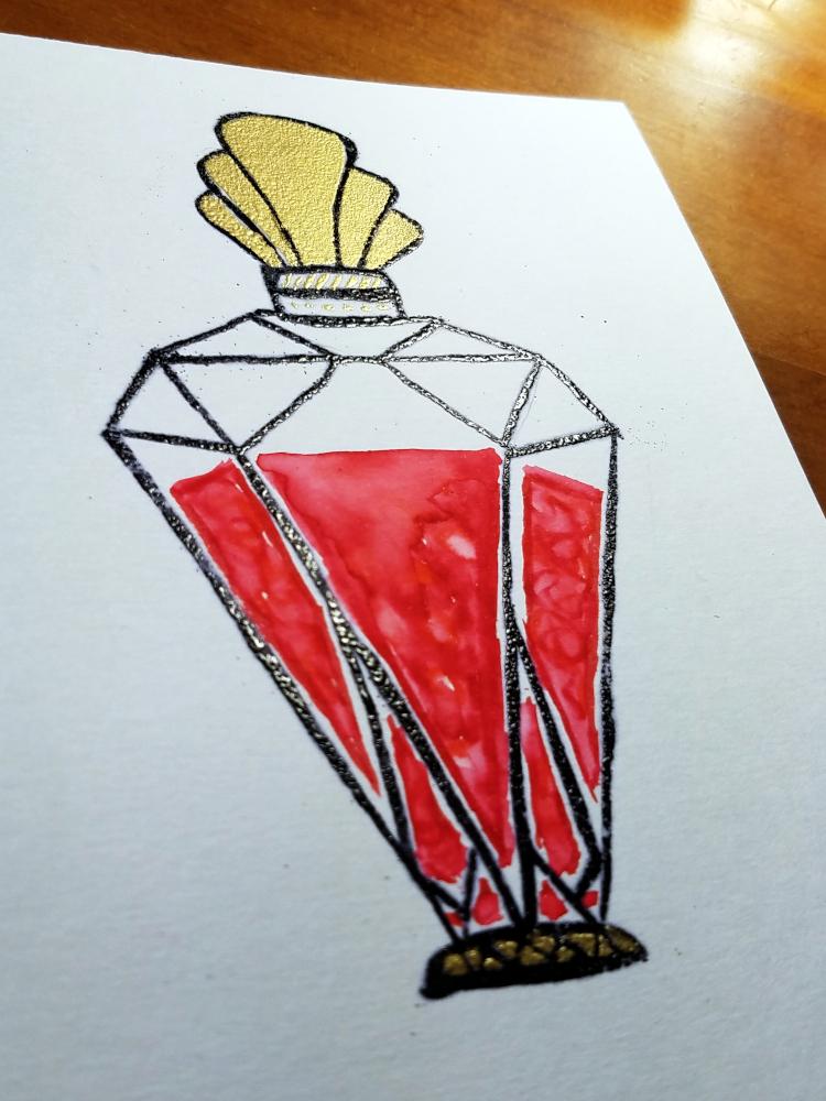 !4embossed art deco perfume bottlewatercolor2.jpg
