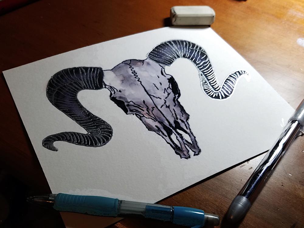 !4Micha Lessard-embossed ram skull.jpg