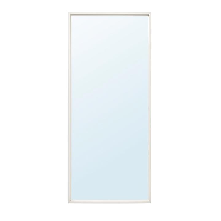 Mirror with White border