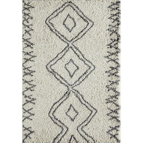 Patterned Shag Rug