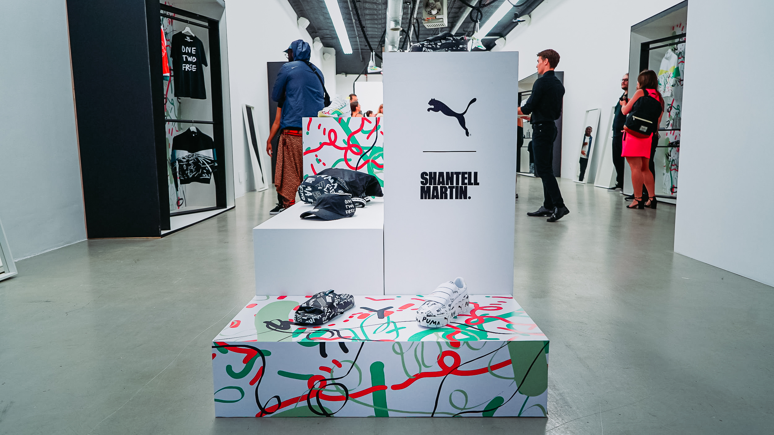 Shantell Martin Puma