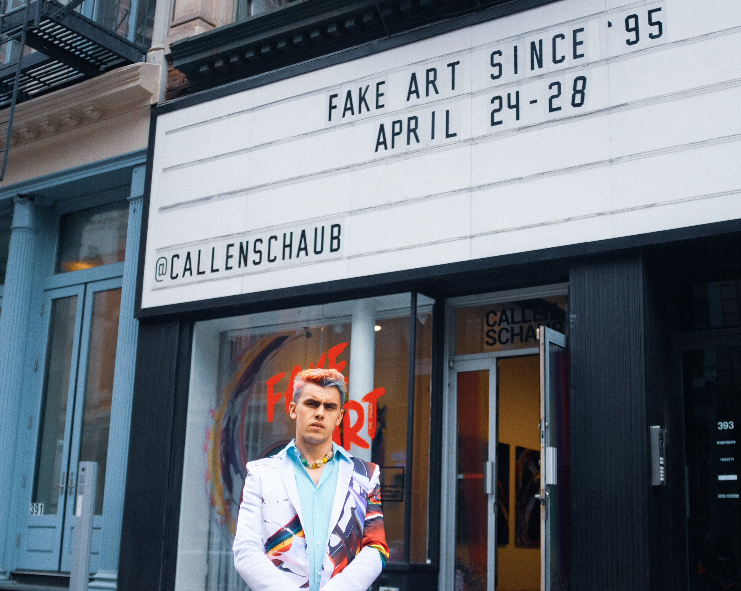 callen shaub fine fake art