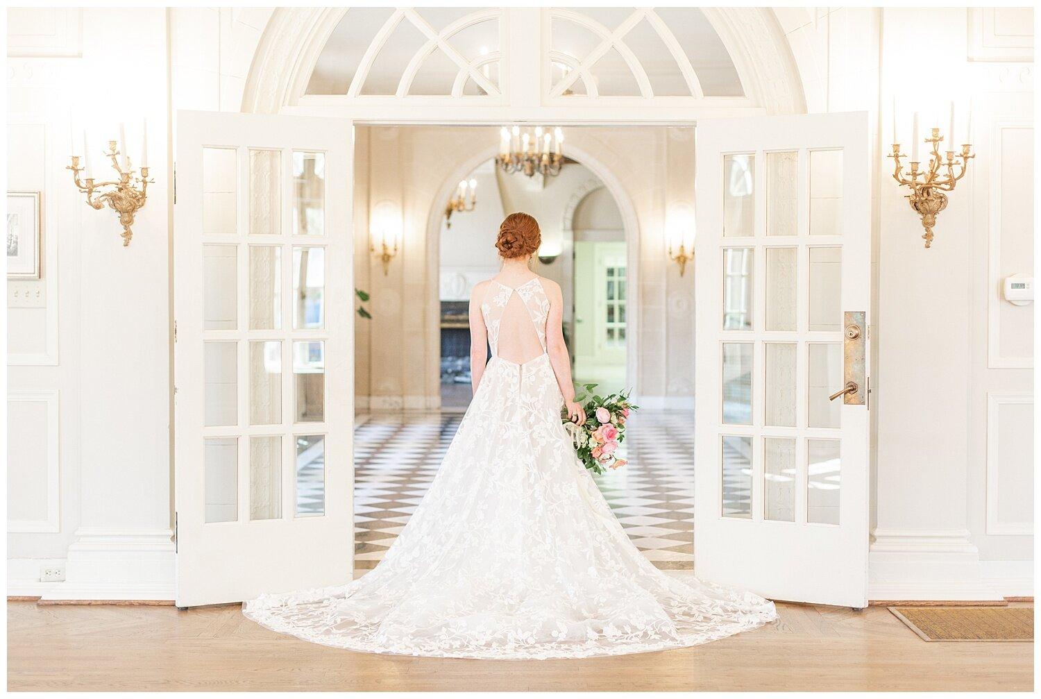 white room bridal pictures