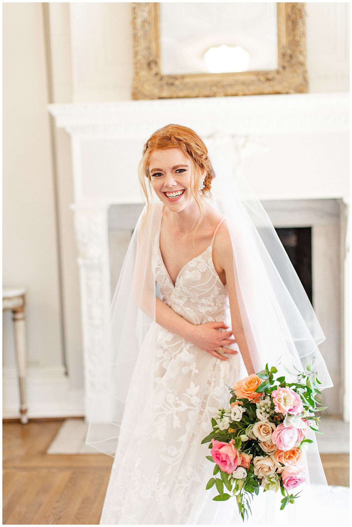 bright and airy bridal pictures
