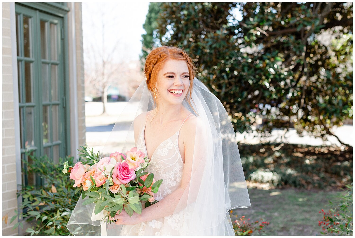 tulsa garden center bridal pictures