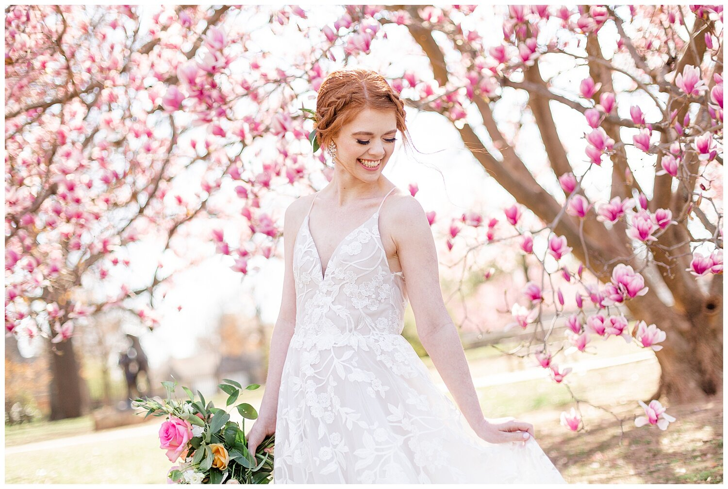 spring bridal pictures