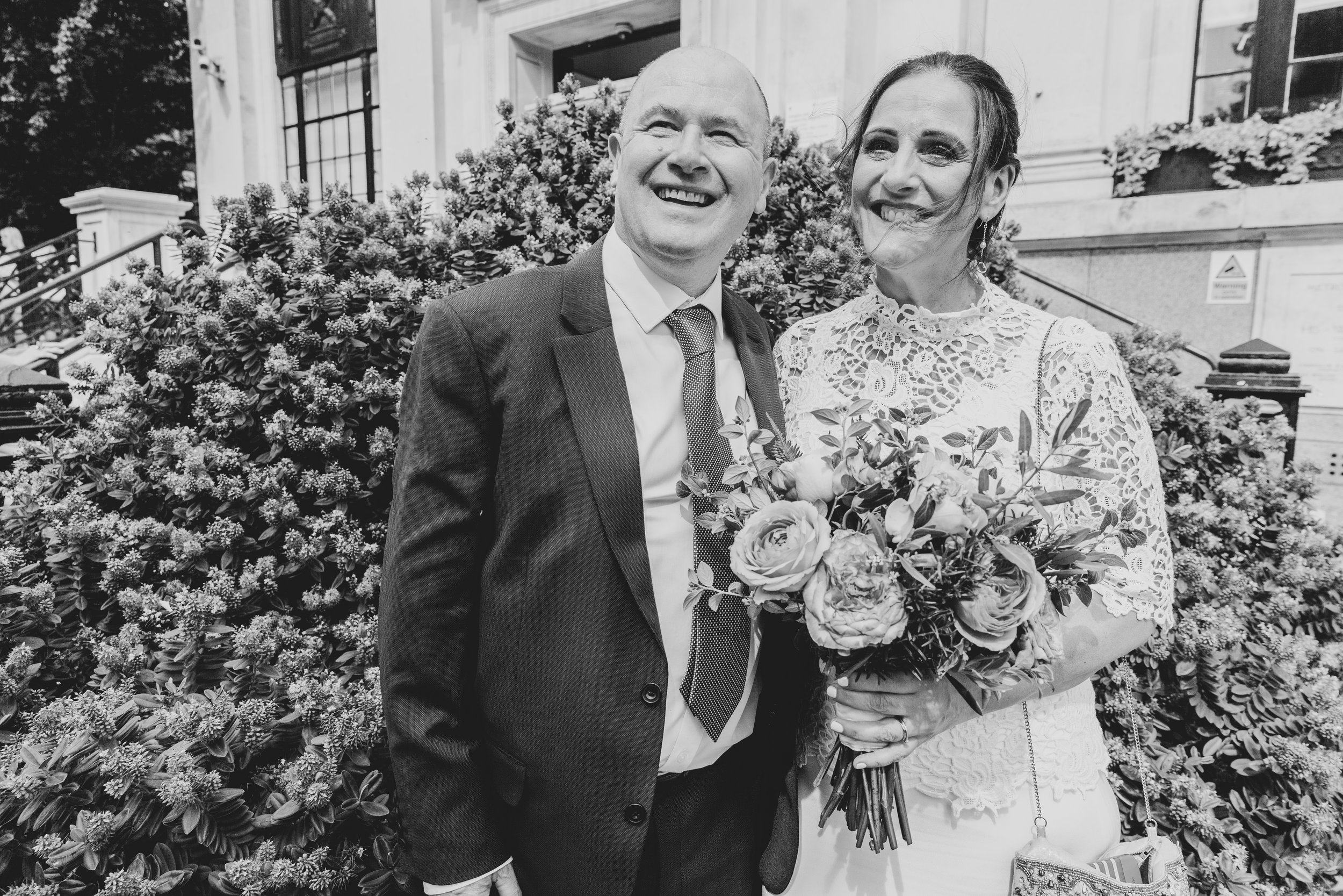 Tamsin & Paul - From our very first meeting it was fantastic working with Sam, she did an amazing job at our wedding by capturing what a happy day (and evening) it was. Loved the little presentation box and it was great fun re-living the memories - would highly recommend. Thank you team Lase!