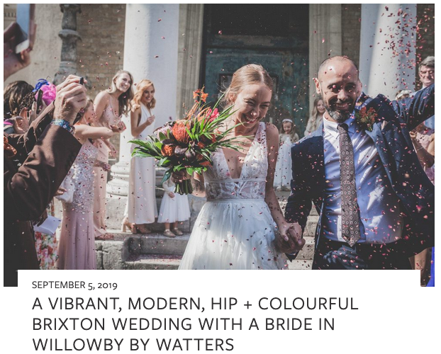 LASE WERE FEATURED ON love my dress BLOG! - We were stoked to have Becky and Dan's urban wedding recently featured on the amazing Love my Dress blog. Click through on the image to see the feature in full!