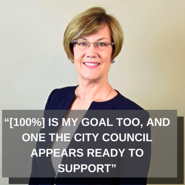 Kim Norton Rochester Mayor 100 Renwable Quote.png