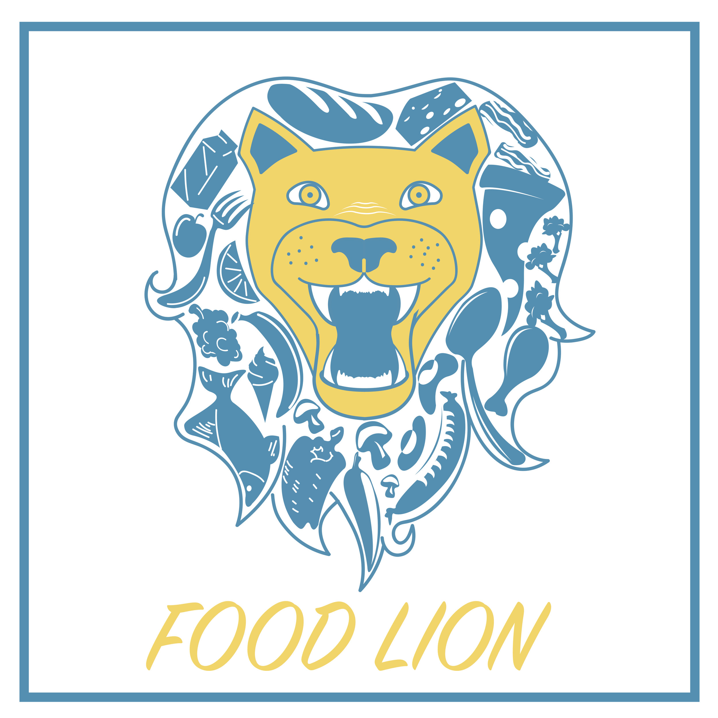 Food Lion Logo - Redesign