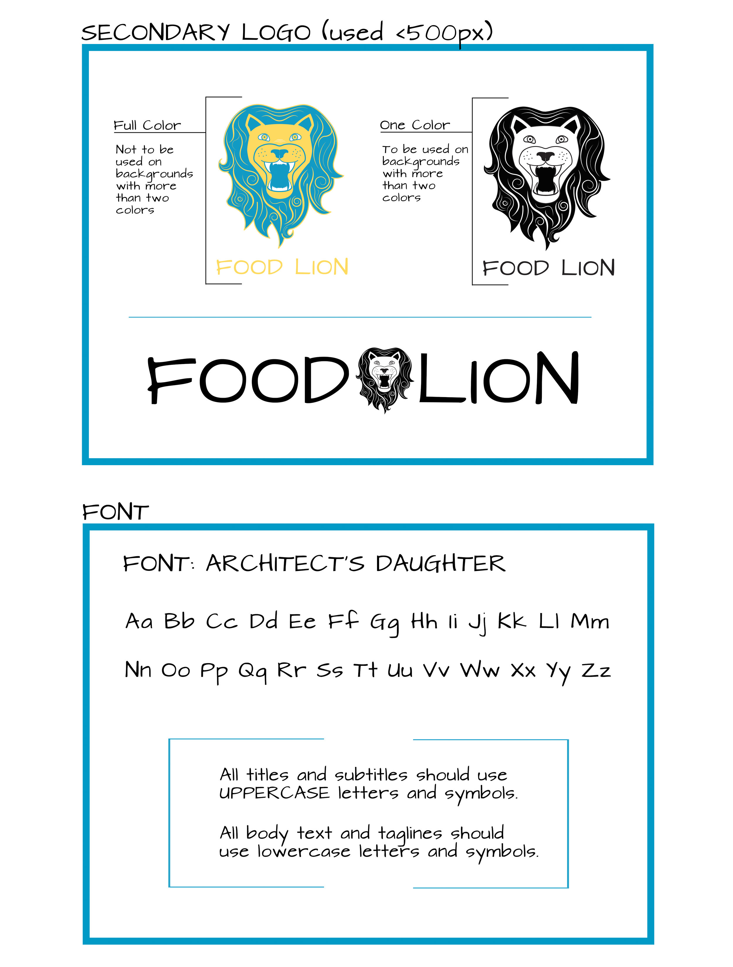 Food Lion Redesign - Style Sheet