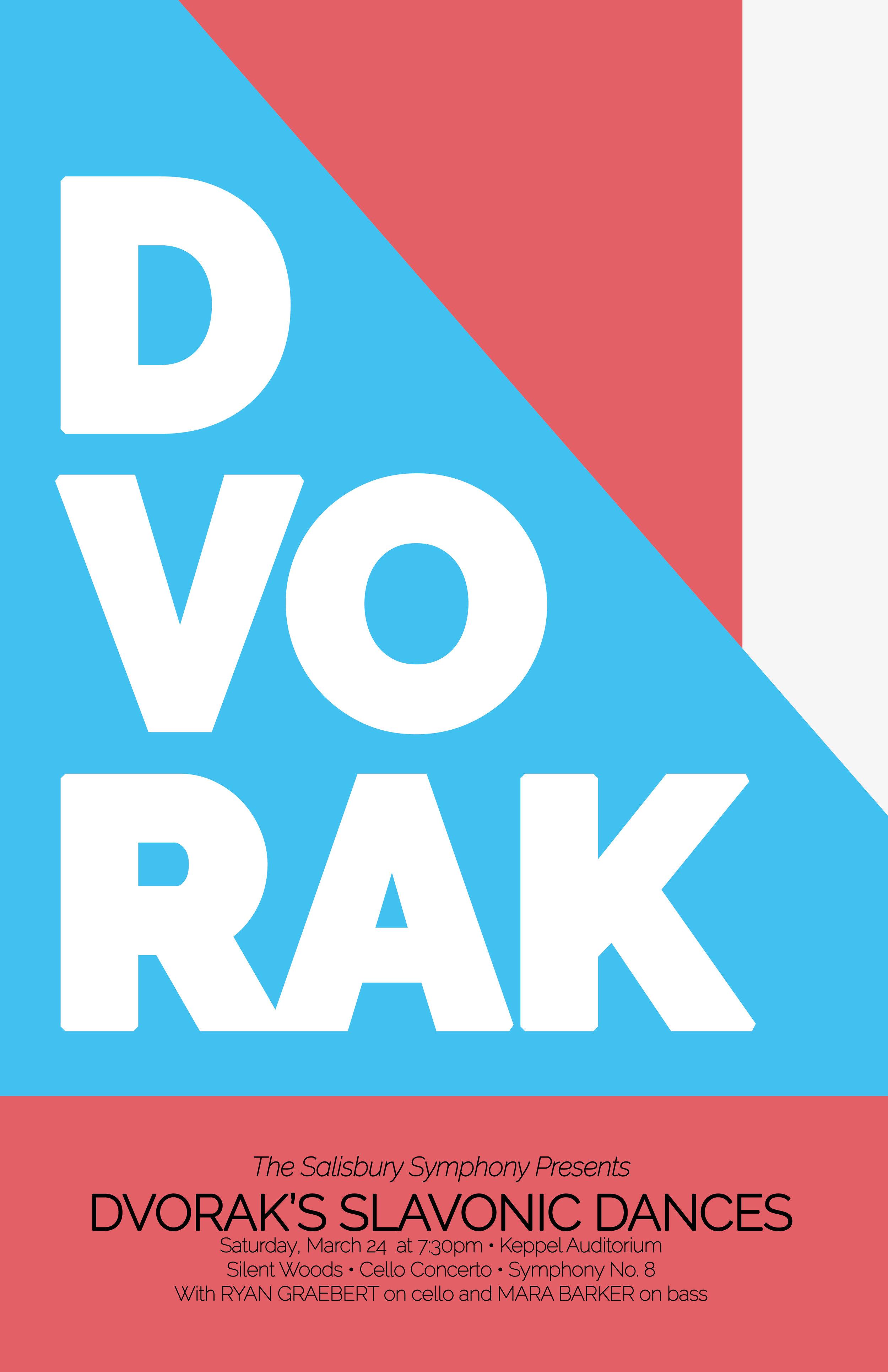 Dvorak's Slavonic Dances Poster