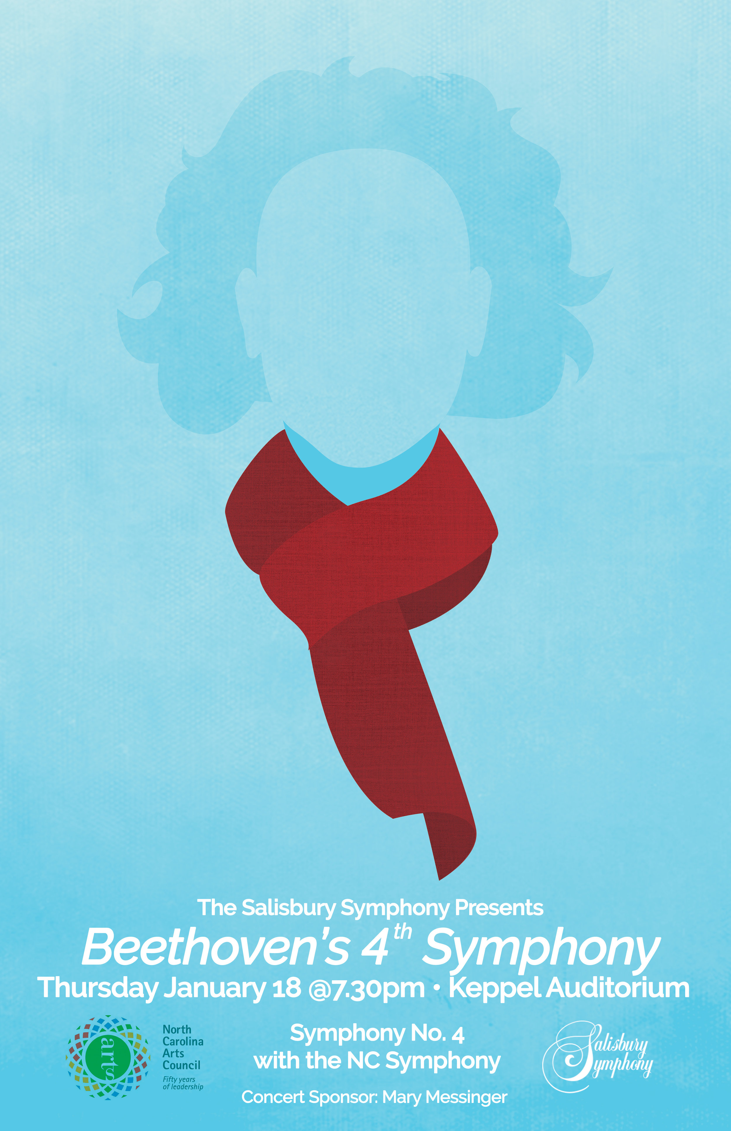 Beethoven's 4th Symphony Poster