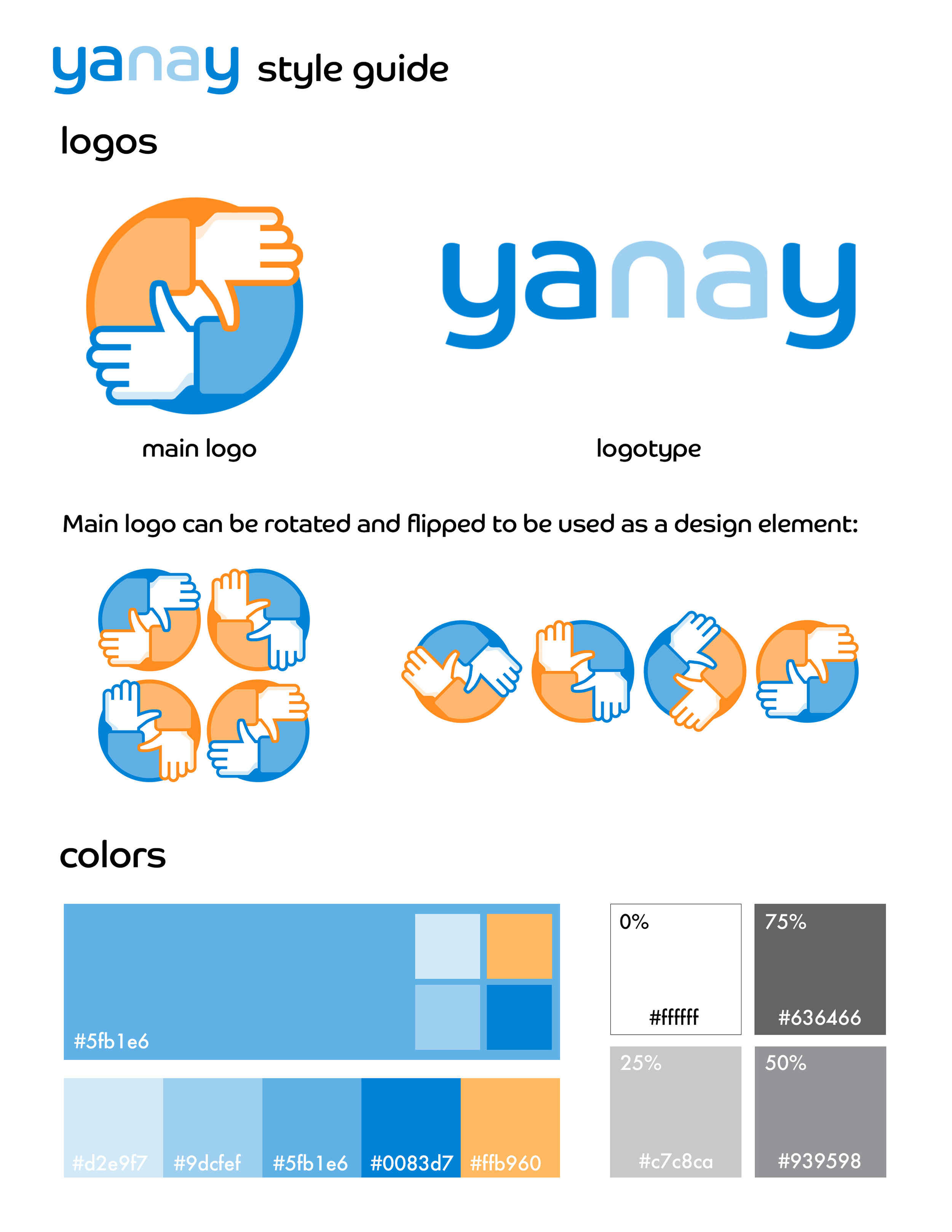 Style Guide Page 1
