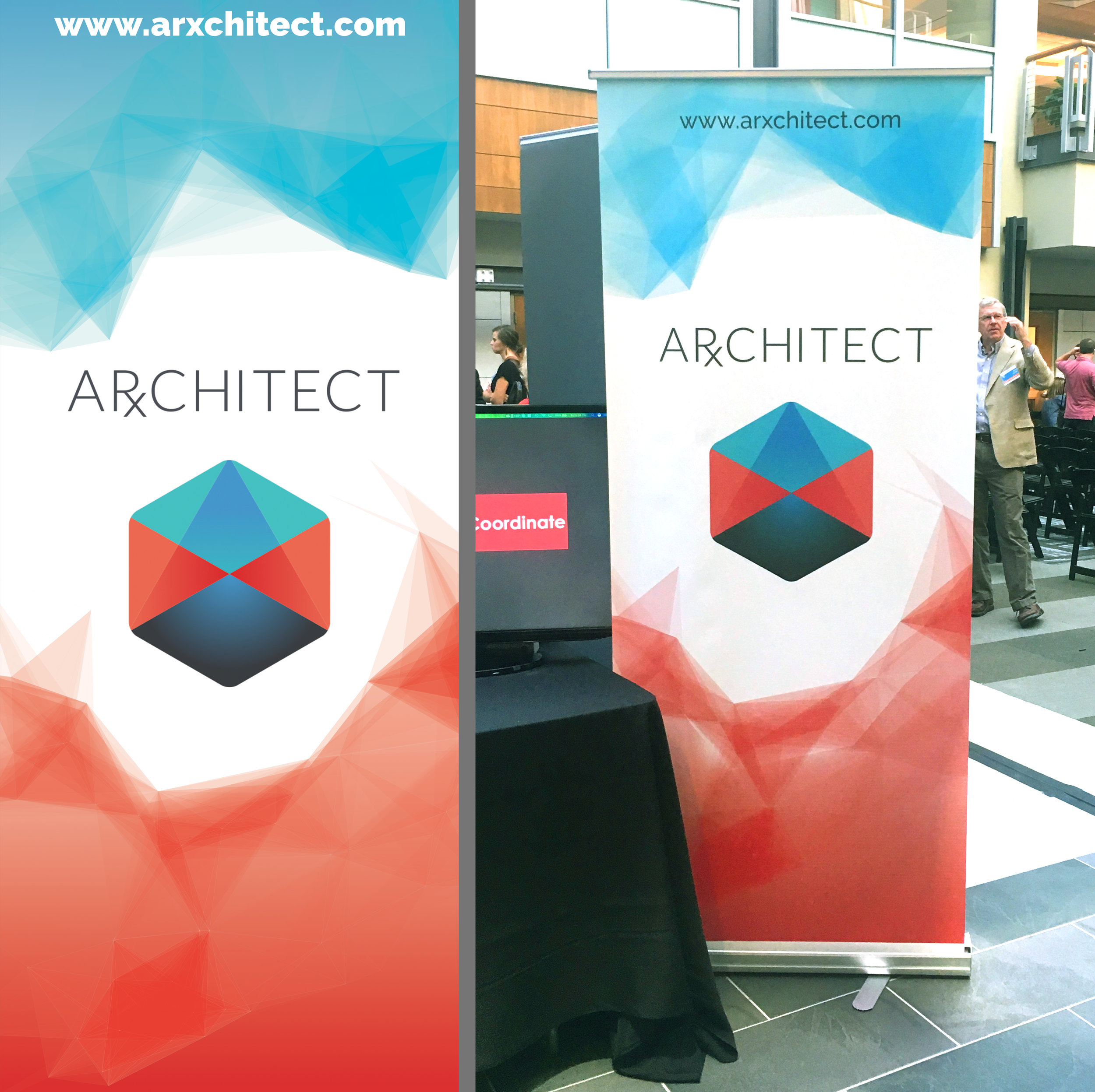 Arxchitect Banner Stand - Demo Day 2017