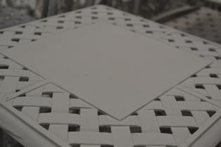 Verona 2 seater table top design