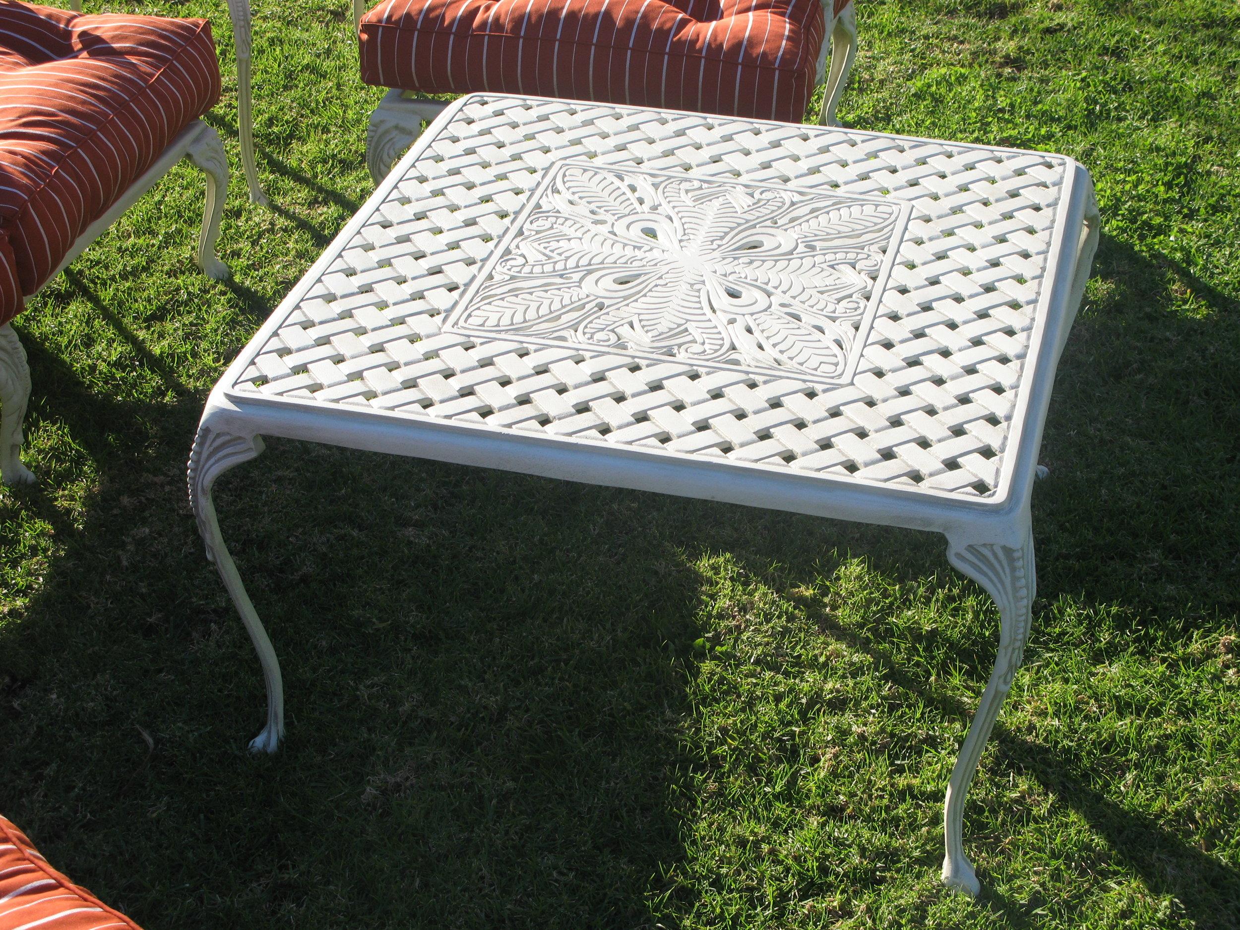 St Tropez 50cm side table