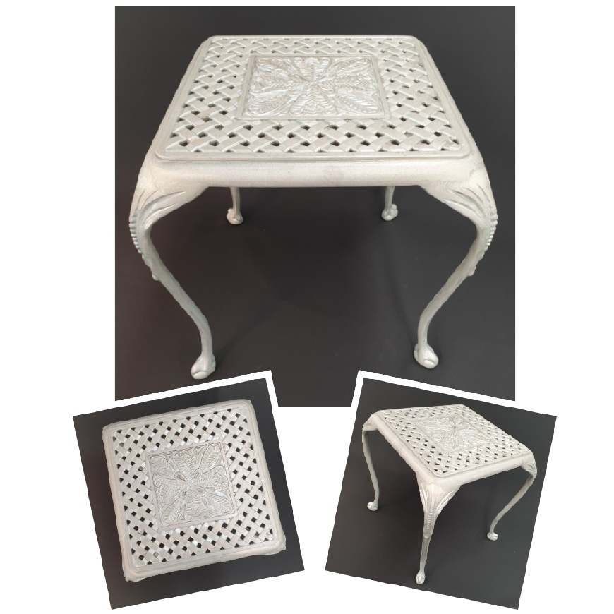 *NEW* St Tropez 40cm side table with Olympus top