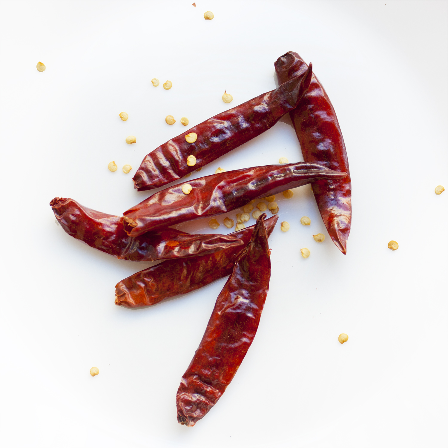 whole, dried chilis