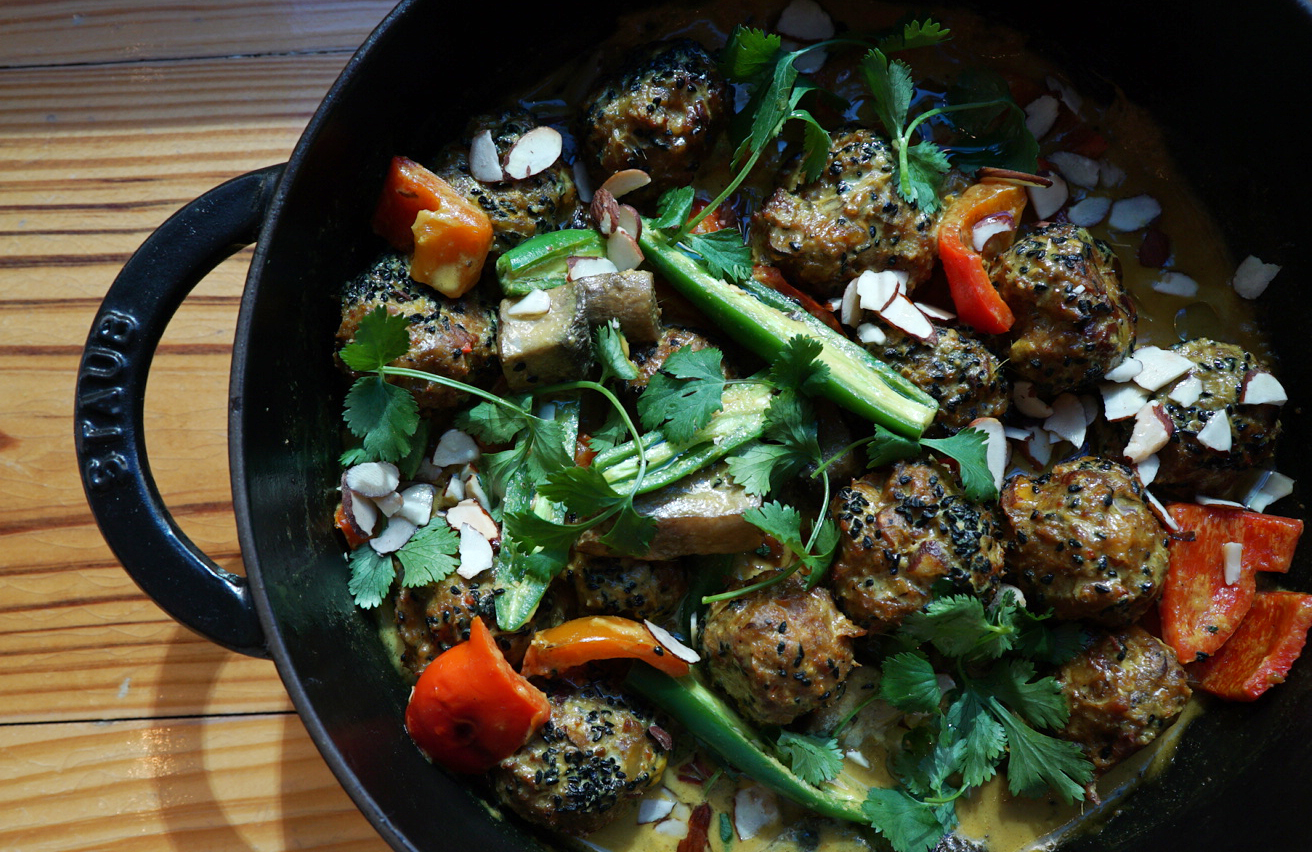lamb kofta curry -