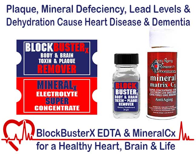 BlockbusterX EDTA Removes Lead and other Dangerous Toxins      Our #3 Seller for Optimum Well Being   CLICK HERE