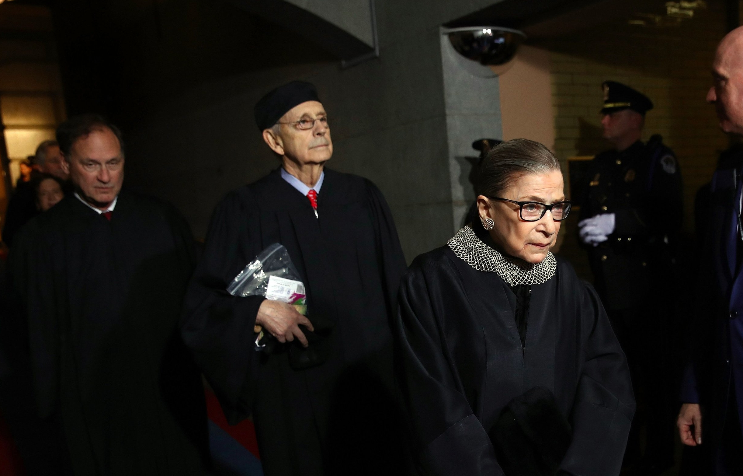"Supreme Court Justice, Ruth Bader Ginsburg says ""The #MeToo movement is important, but so is due process."""