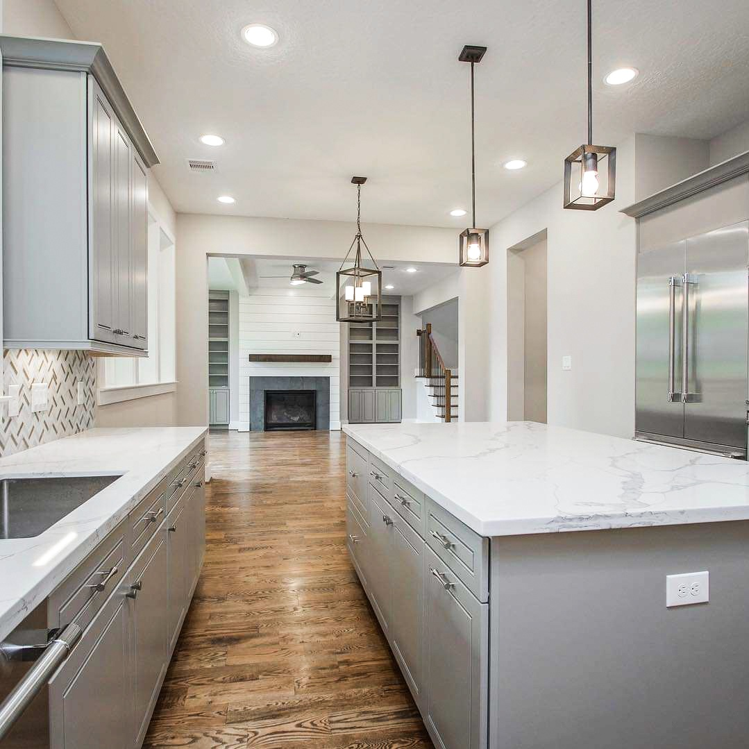 Oak Forest New Build. Interior Design by REI Design Solutions