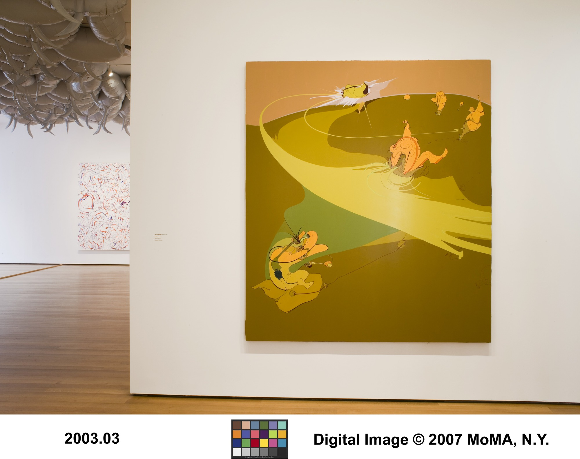 Comic Abstraction: Image-breaking, Image-making | MoMA