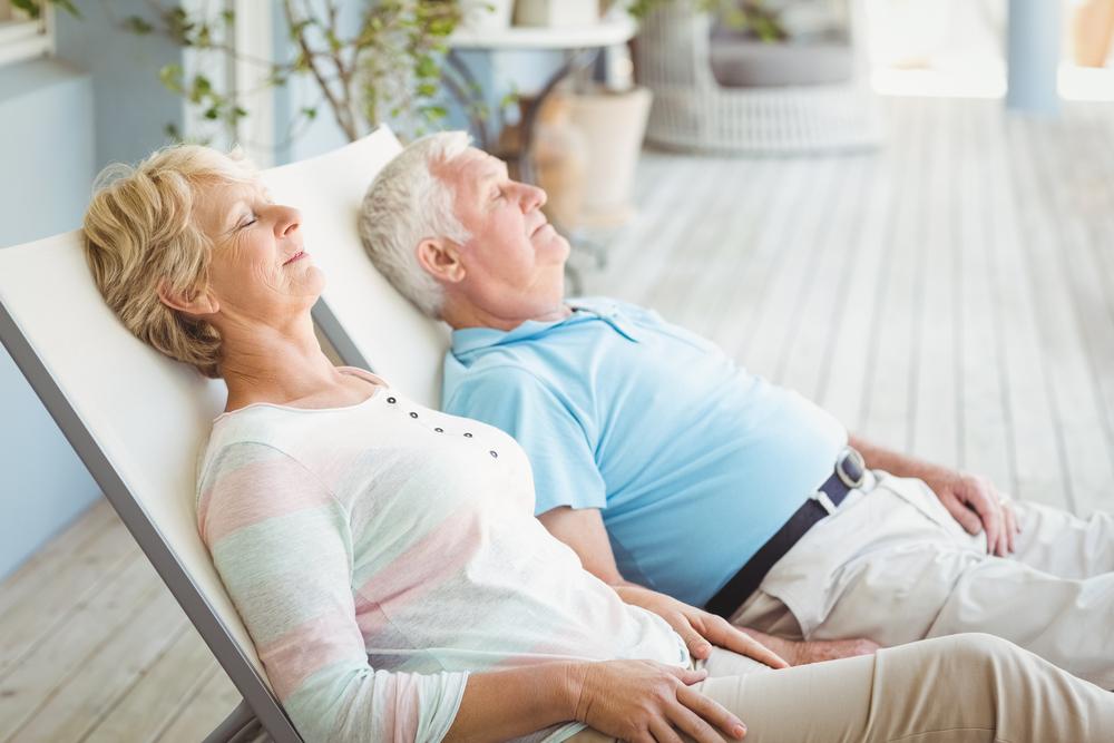 Seniors Live Peacefully