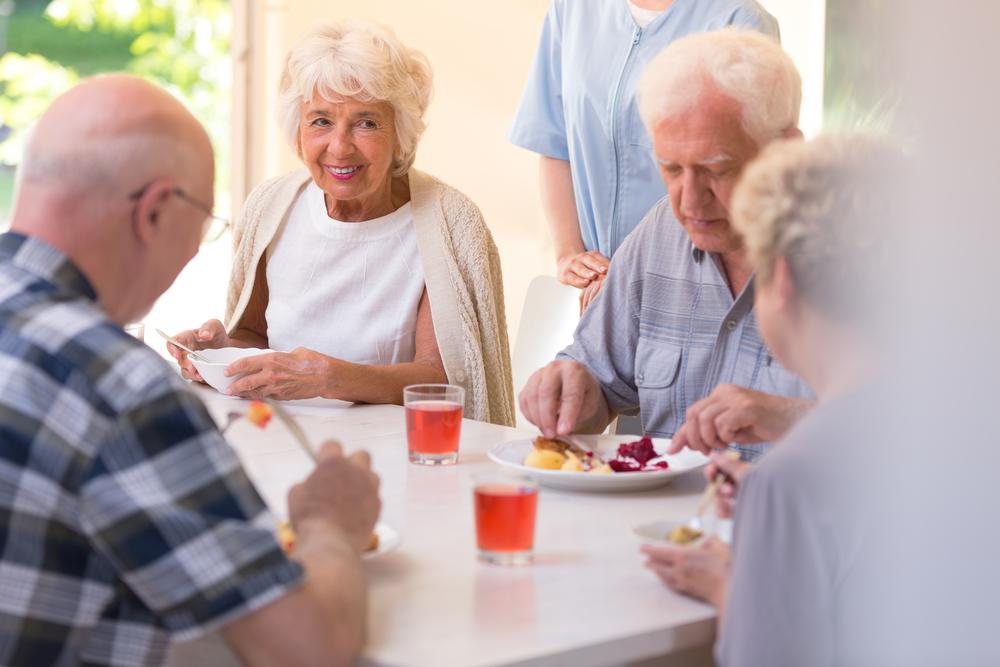 seniors at assisted living