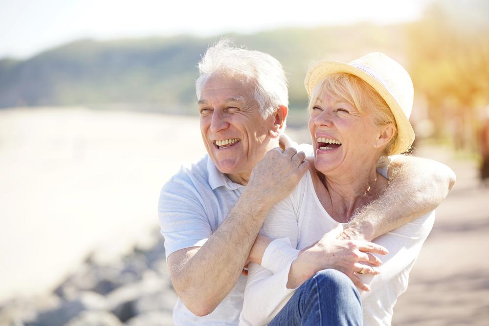 seniors spending time under sun