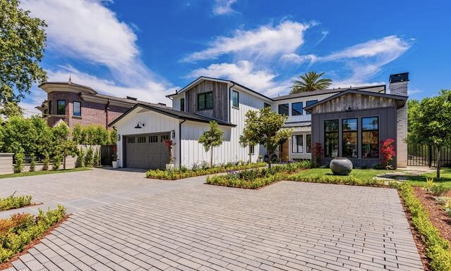 11570 Dilling St. Studio City 91604 - 6 Bd | 9 Ba |8300 sqft | 16,500 sqft lot                        SOLD FOR $6,923,750 on 8/02/2019The dream estate on Dilling Street has finally arrived! A brand new construction luxury residence located on the best street in the prime and coveted neighborhood of Colfax Meadows! Situated on a gated and private 16,500 sqft lot. This modern farmhouse design captures every element of today's estate living. This lavish estate offers approx 8300 sqft of living space, open concept smart home technology, 6 bedroom suites, 9 baths, gourmet kitchen with all state of the art appliances, study/office, elevator, movie theater room, billiard room, wine room, and gym. The entertainers yard offers salt water pool/spa, fire pit, BBQ station, multiple seating areas, a detached guest house with full bath and huge grassy area. Award winning schools, close to fine dining and shops. Inspired, designed and built by LA's most respected builders.More info and photos