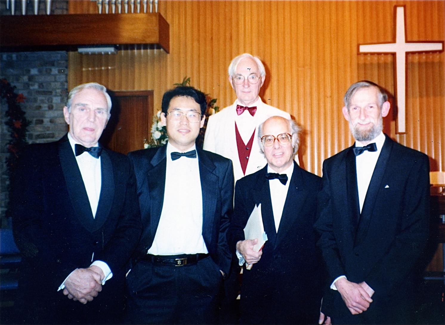 Eddie Palmer and tenors at Marlborough Road Methodist Church