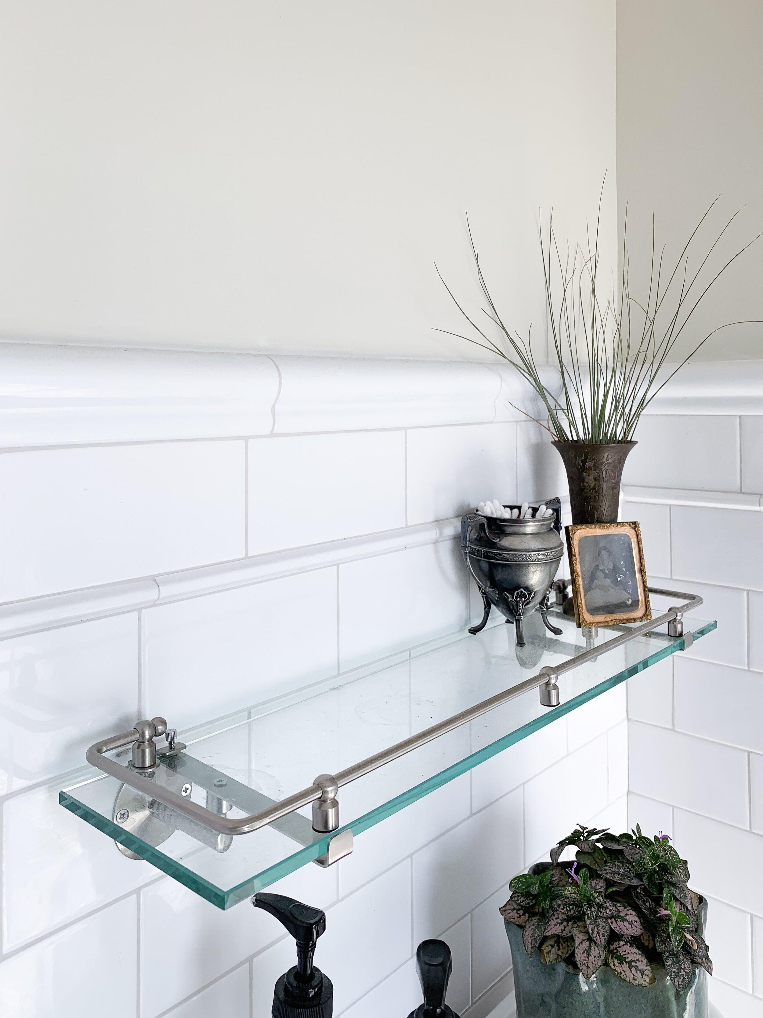 Glass Shelf  |  Pump Bottles