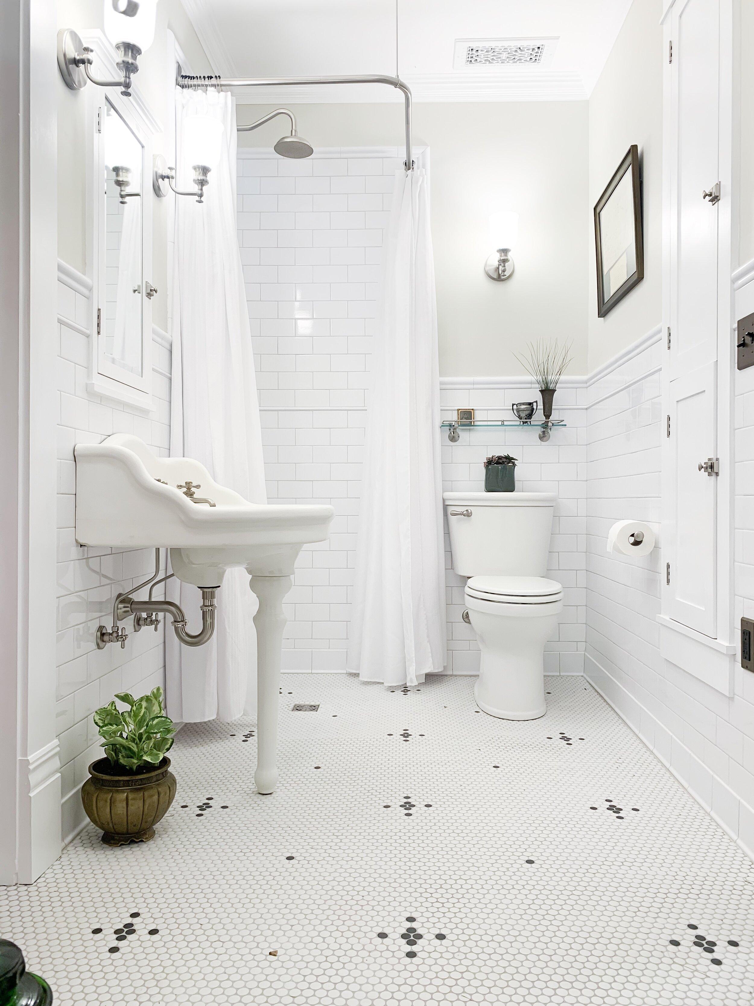 Vintage Master Bathroom