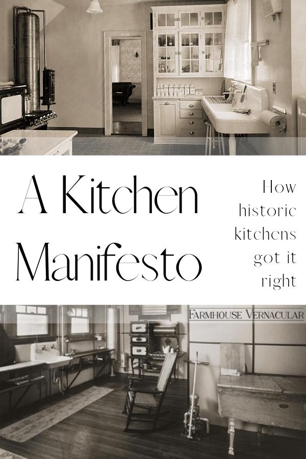 Kitchen Manifesto