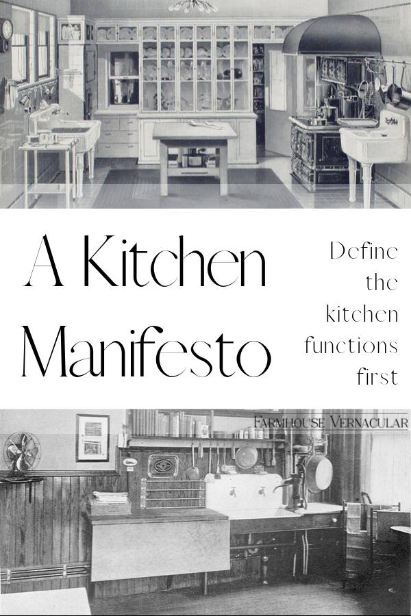 Kitchen Manifesto Part 2