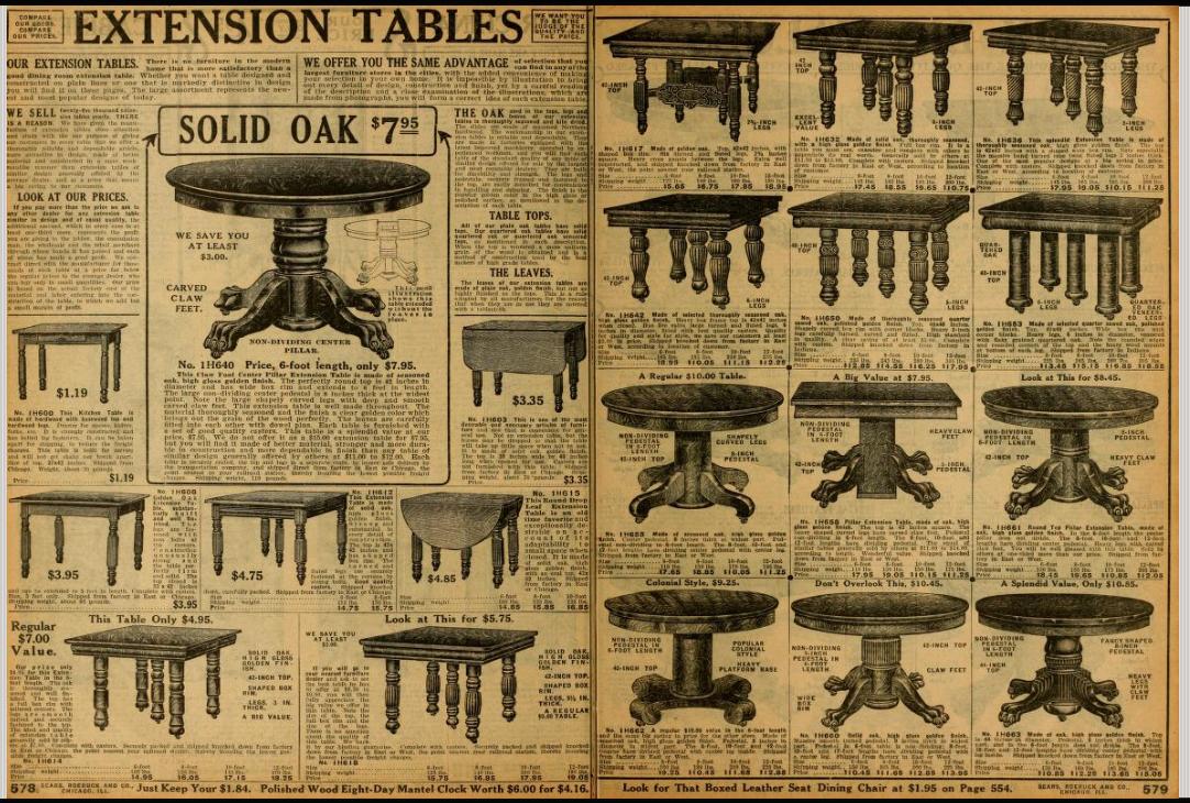 From Sears Catalog no. 124. 1912