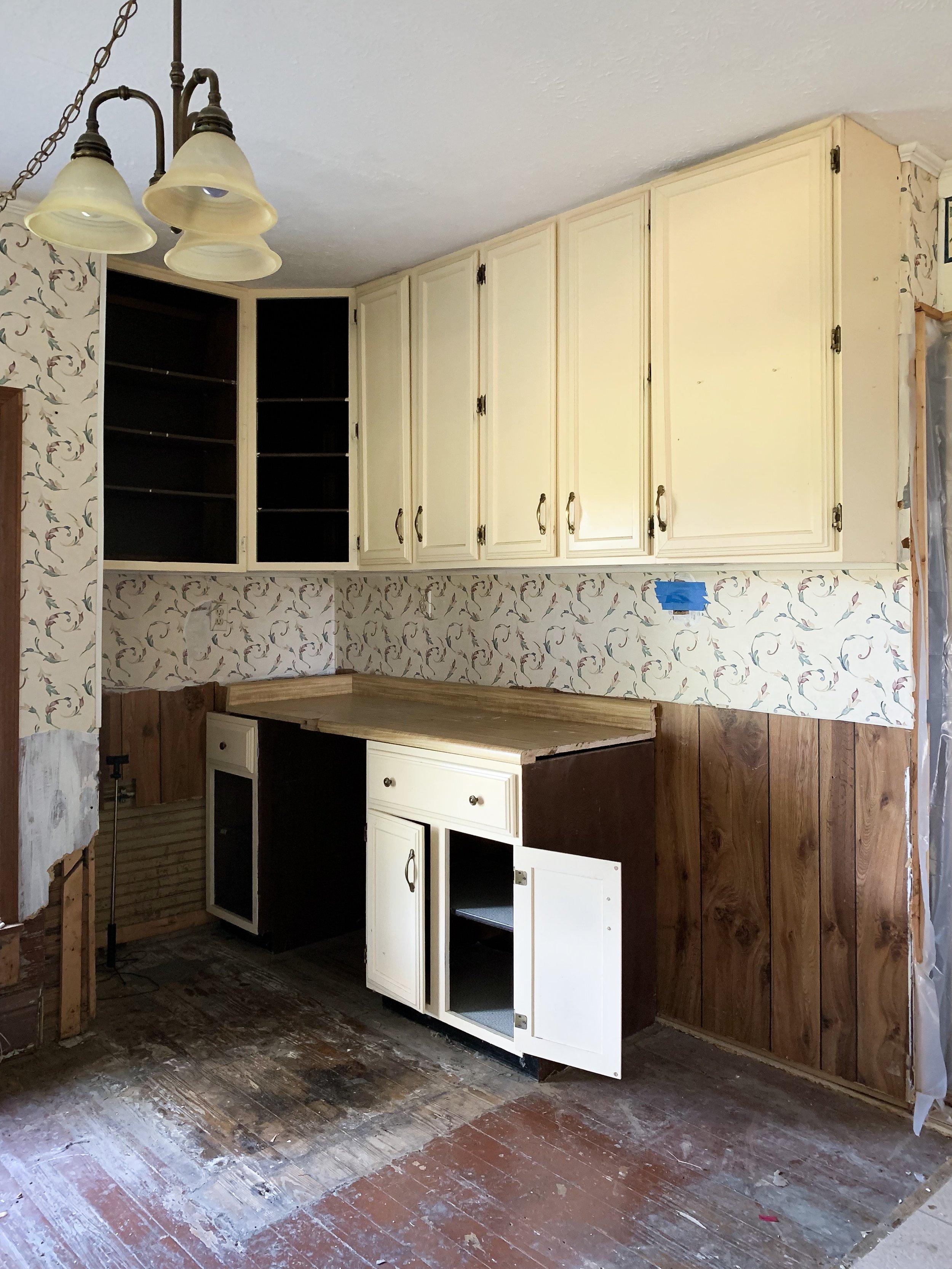 Kitchen corner before