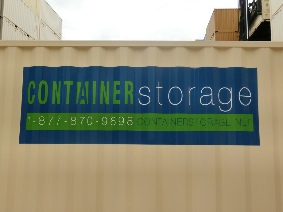 Container Storage is your go-to for fast, clean and secure containers.