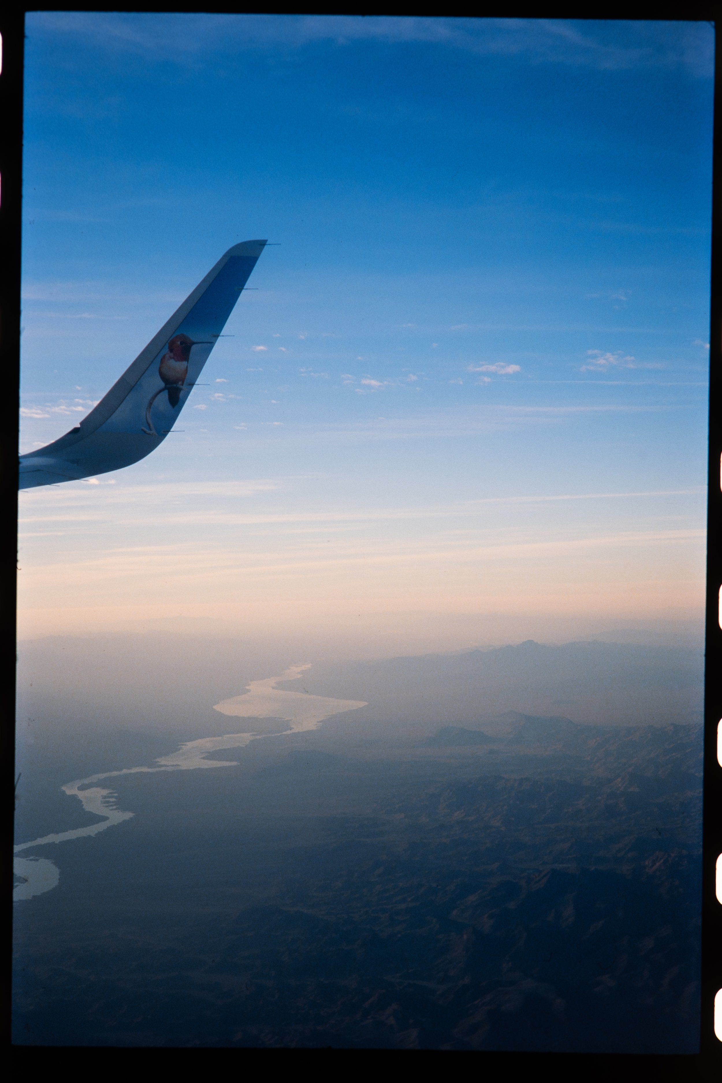 This wouldn't be a post about travel and simplifying without a photo of some plane wings. -